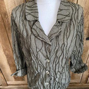 Size Medium Blouse by Cut Loose